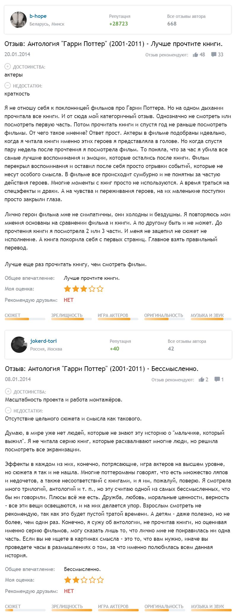 гарри поттер на русском